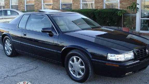 Black Cadillac Eldorado