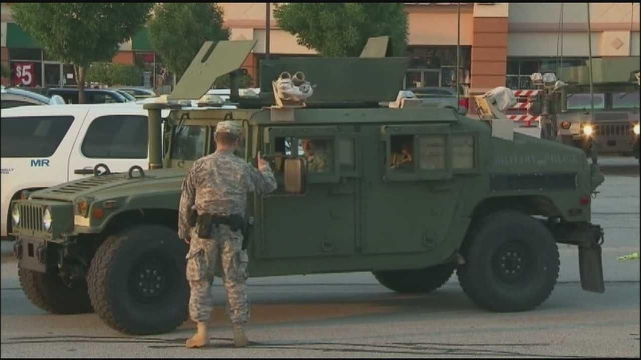 National Guard prepares to leave Ferguson