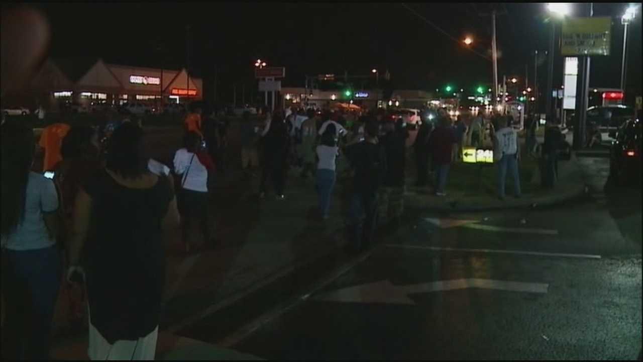 Ferguson protests Thursday