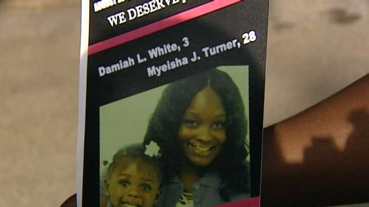 Myeisha Turner, Damiah White flier