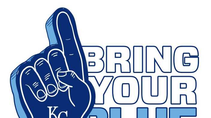 Kansas City Royals ask fans to wear blue
