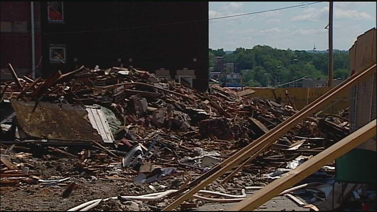 Image Church collapse demolition