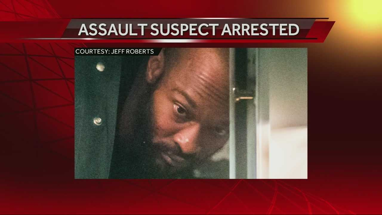Motel assault suspect in custody