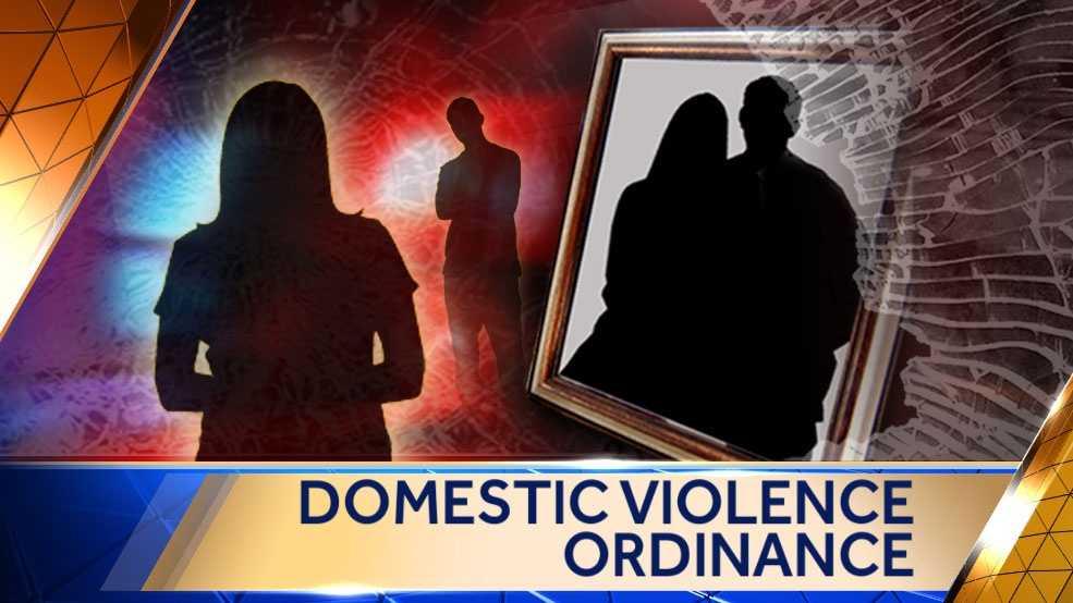 Image Domestic violence ordinance