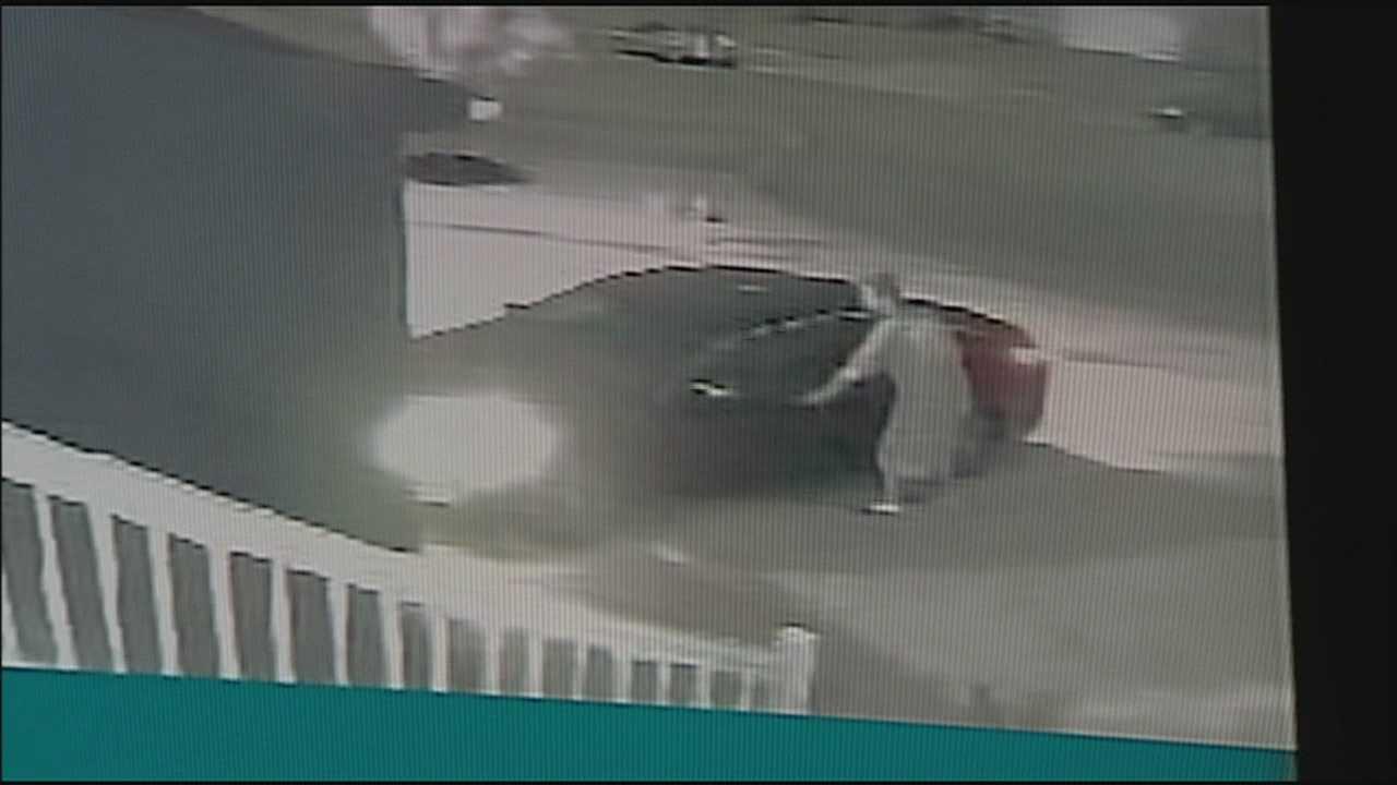 Surveillance camera catches car theft from man's garage