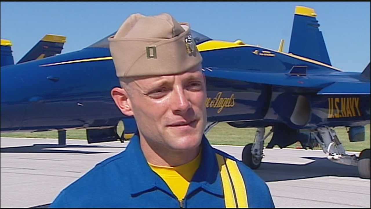 Blue Angels pilot, K-State grad hopes to inspire others