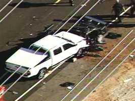 A fatal head-on crash shut down Paseo del Volcan in Rio Rancho from Highway 550 to Iris on Thursday April 5, 2012