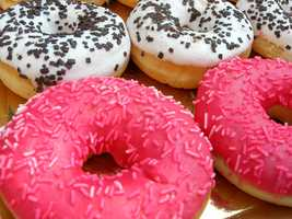Don't eat anything with trans-fats which may be linked to heath conditions like diabetes, heart disease, cancer, low-birth weight, immune dysfunction and obesity.