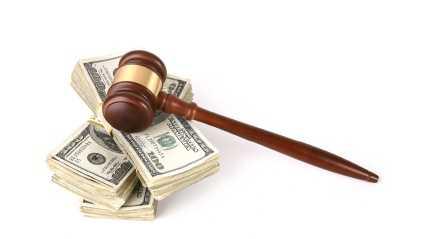 money, gavel, law