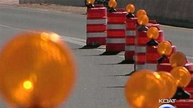 Traffic Construction Orange Barrel Generic