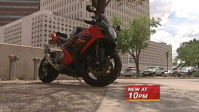 Man says he stole 70 motorcycles