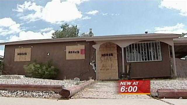 Family must repair home damaged in shootout