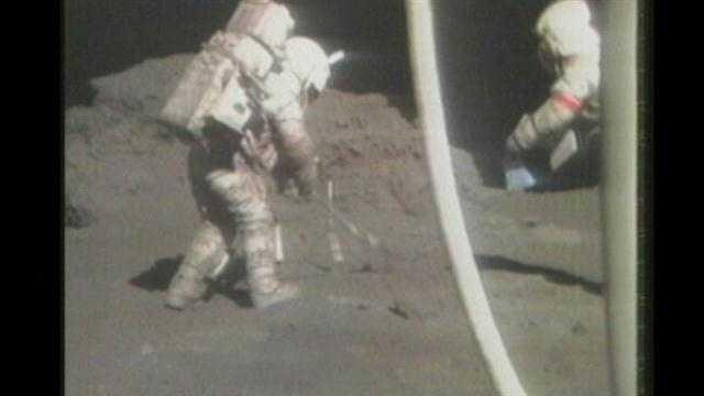 Moonwalk apollo 17 Harrison schmitt