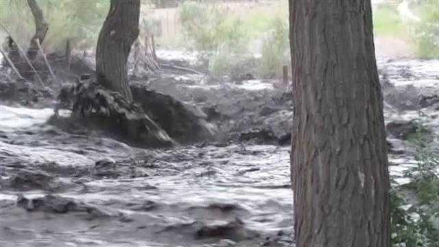 Flooding a concern for the Santa Clara Pueblo