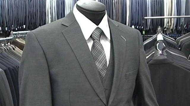 Donated suits to go to job seekers