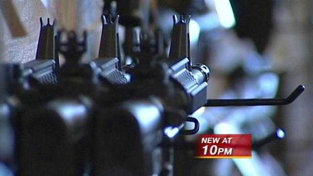 Gun sales spike in New Mexico