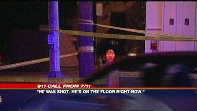 911 tapes of shooting at 7-Eleven released