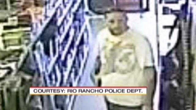 See surveillance photos from the robbery.