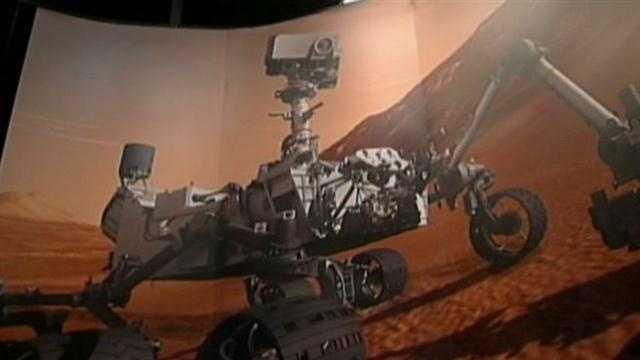 Mars Rover Lands Tonight