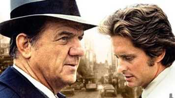 "1972: Michael Douglas stars with Karl Malden on the ABC police drama ""The Streets of San Francisco."" Douglas remained on the show until 1976."