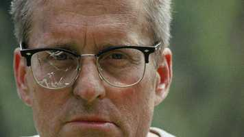 "1993: Michael Douglas in the crime drama ""Falling Down."""