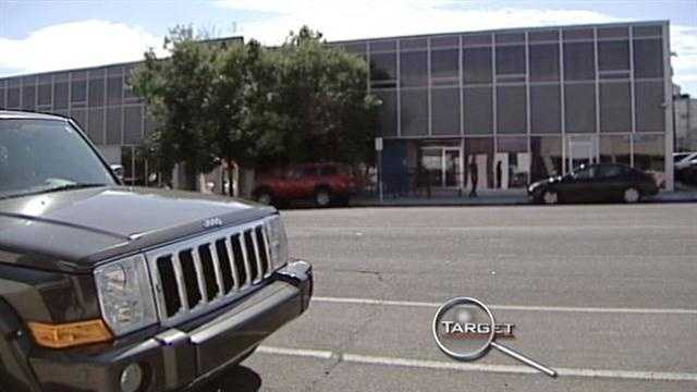 A probation and parole office is located very close to a school attended by young New Mexico.
