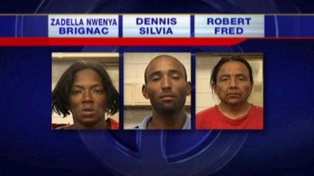 Trio stole 7 TVs from Walmart stores, police say