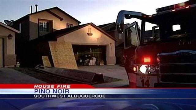 Pino Noir House Fire