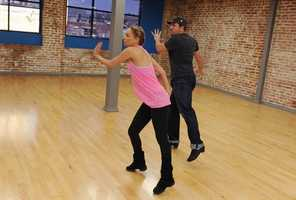 *NSYNC member Joey Fatone  and Kym Johnson look to improve on their second place finish in season four.