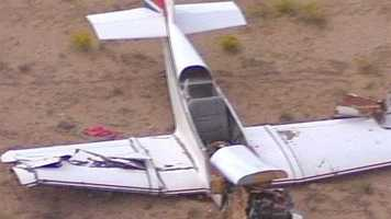 An aircraft crashed at Double Eagle Airport near Artrisco Vista and Interstate 40 on Tuesday afternoon.