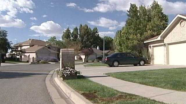 A mass of homes were broken into in one Rio Rancho neighborhood.