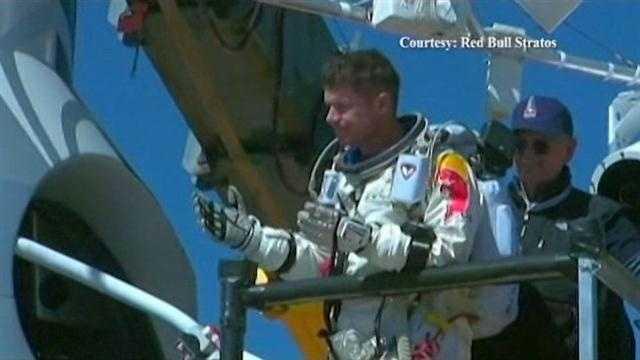 Space jump brings some dangers
