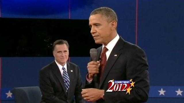 Political analyst Brian Sanderoff reacts to the second presidential debate.