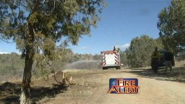 Rotocap Fire grows in southern Colorado
