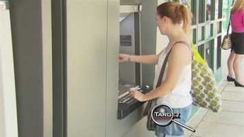 A trip to the ATM can turn dangerous in an instant, with people creeping up behind you to swipe your cash or your pin number. But Target 7 found something equally disturbing and dangerous lurking in cash machines.