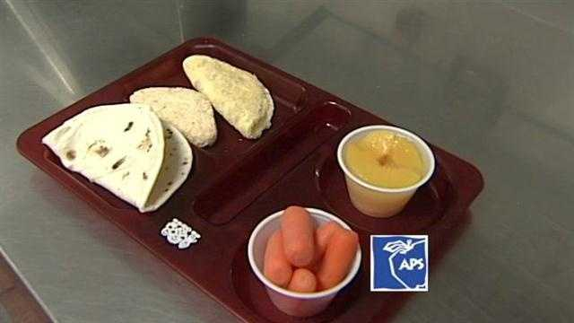 APS has some new lunch items to help keep your kids healthy.