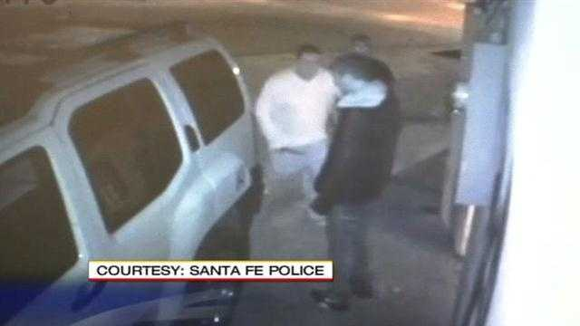 Santa Fe police are looking for two suspects involved in a brutal stabbing.