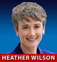 Former Rep. Heather Wilson, R-N.M., is hoping to be the first GOP U.S. Senator from Ne w Mexico since Pete Domenici.