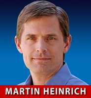 Rep. Martin Heinrich, D-N.M., is hoping to replace outgoing Sen. Jeff Bingaman.