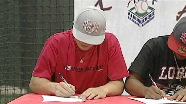 Wednesday marked the first day of the fall signing period for high school athletes to sign letters of intent to play sports at a the collegiate level.