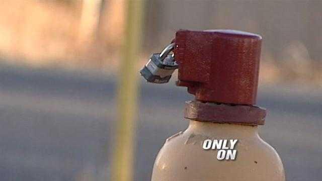 Moriarty Locked Hudrants