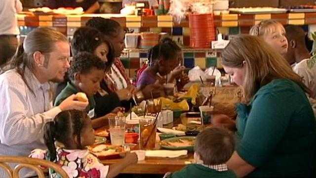 Foster Family Thanksgiving Dinner