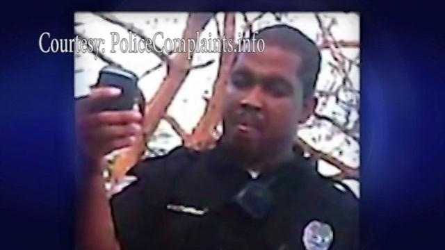 More details about that disturbing cell phone video. That appears to show a city of Albuquerque security officer, choking a man videotaping him. Action 7 news reporter Anna Velasquez has more of that video showing what led up to the attack.