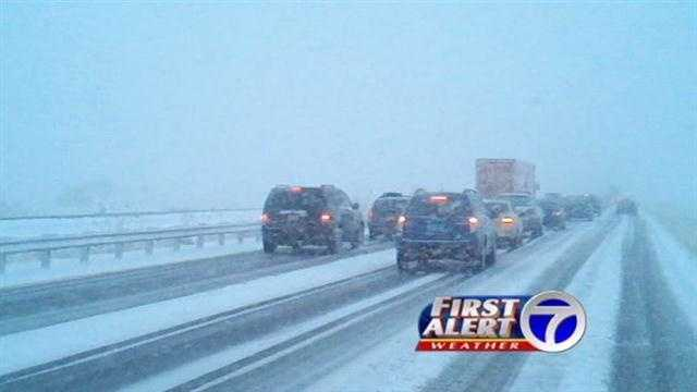 Our weather coverage continues, as many parts of northern New Mexico are getting a healthy dose of winter weather.
