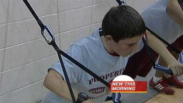 New excersise program aimed at fighting childhood obesity
