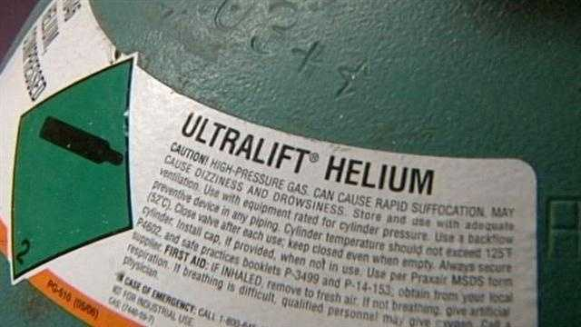 Higher helium prices affecting New Year's Eve balloons