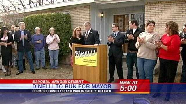 Pete Dinelli, a former city councilor and chief public safety officer, has announced he will run. And he has a number of changes he wants to make, that will have a direct impact on you!