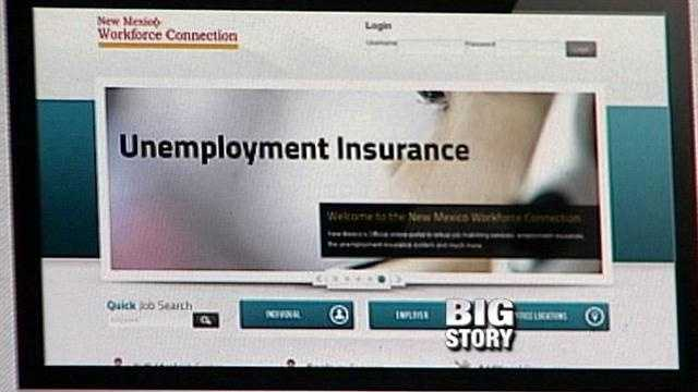 New unemployment website draws ire