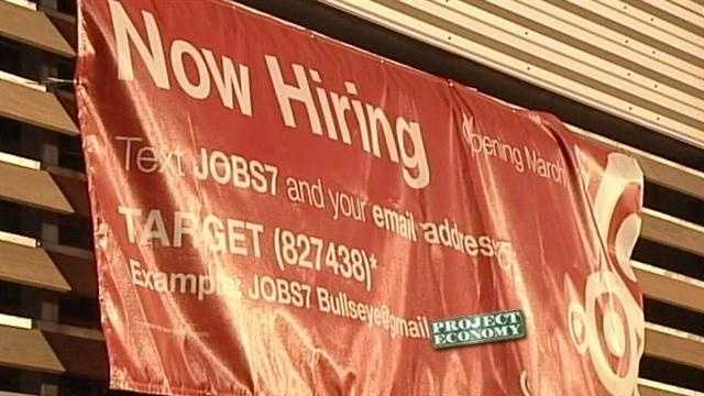 Target is looking to hire 200 team members at its new uptown location, but the competition is tough.