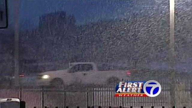 Roads are getting icier and the later you're out on the road, the more dangerous it can get.